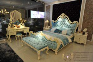Kamar Set Klasik Model Ukiran